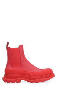 Tread Slick leather ankle boots, Chelsea boots Alexander McQueen man