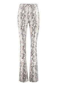 Printed high-rise trousers, Flared pants Alessandra Rich woman