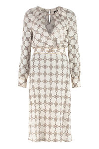 Printed crepe dress, Printed dresses Elisabetta Franchi woman