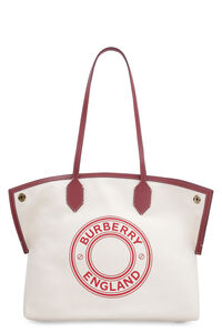 Society canvas tote bag, Tote bags Burberry woman