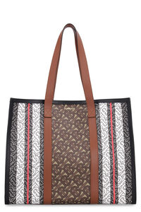 Coated canvas tote, Tote bags Burberry woman