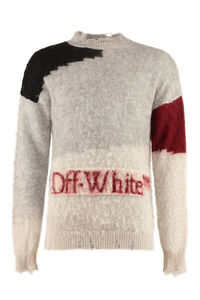 Mohair blend sweater, Crew necks sweaters Off-White man