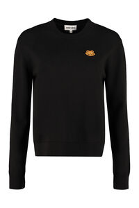Patch detail wool pullover, Crew neck sweaters Kenzo woman