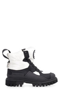 Leather lace-up boots, Apré Ski & Shearling Boots Dolce & Gabbana woman