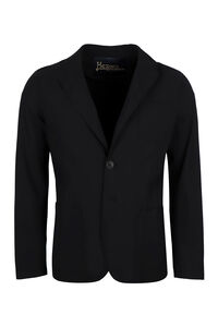 Single-breasted two-button blazer, Single breasted blazers Herno man