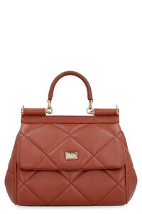 Sicily quilted leather handbag, Top handle Dolce & Gabbana woman