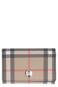 Vintage Check fabric wallet, Wallets Burberry woman