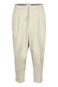 Carrot-fit cotton pants, Casual trousers AMI man