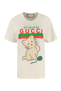 Oversize cotton T-shirt, T-shirts Gucci woman