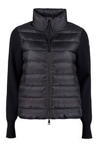 Knitted sleeves padded jacket, Casual Jackets Moncler woman