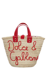Raffia handbag, Top handle Dolce & Gabbana woman