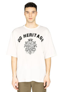 Stretch cotton T-shirt, Short sleeve t-shirts Dolce & Gabbana man