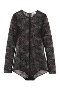 Lace top, Long sleeved Red Valentino woman