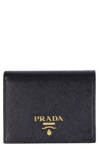 Saffiano leather wallet, Wallets Prada woman