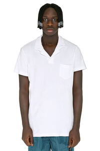 Terry towelling polo shirt, Short sleeve polo shirts Orlebar Brown man