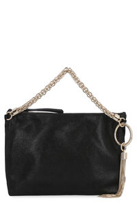 Callie suede clutch bag, Top handle Jimmy Choo woman