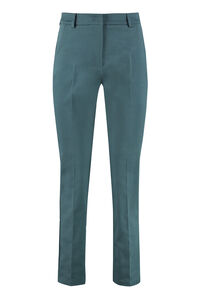 Zanna stretch cotton slim fit trousers, Trousers suits Weekend Max Mara woman