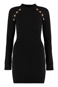 Jersey sheath dress, Mini dresses Balmain woman
