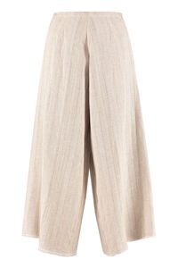 High-waist wide-leg trousers, Wide leg pants Forte Forte woman