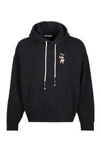 Logo cotton hoodie, Hoodies Palm Angels man