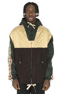 Techno fabric padded jacket, Raincoats And Windbreaker Gucci man