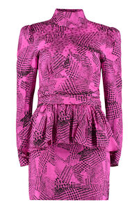 Printed silk mini-dress, Printed dresses Alessandra Rich woman
