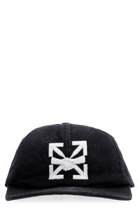 Logo baseball cap, Hats Off-White man