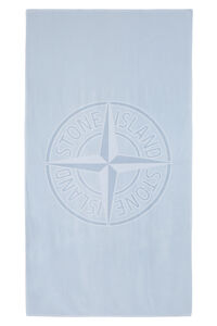 Cotton beach towel, Lifestyle Stone Island man