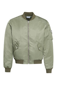 Bogota techno satin bomber jacket, Bomber jackets John Elliot man