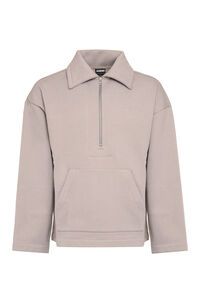 Cotton sweatshirt, Zip through Jacquemus man