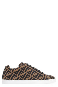 Techno fabric low-top sneakers, Low Top Sneakers Fendi man