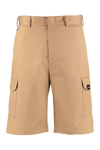Cotton blend multi-pocket bermuda, Shorts MSGM man