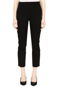 Luana stretch cotton trousers, Trousers suits Max Mara woman