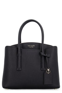 Margaux leather handbag, Top handle Kate Spade New York woman