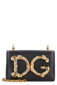 DG Girls leather micro bag, Shoulderbag Dolce & Gabbana woman