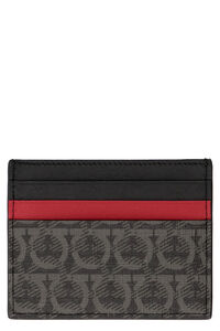 Leather card holder, Wallets Salvatore Ferragamo man