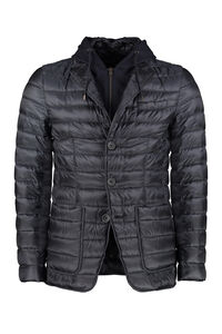 Hooded down jacket, Down jackets Herno man