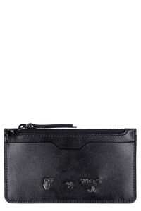 Leather card holder, Wallets Off-White woman