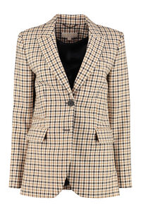 Checked blazer, Blazers MICHAEL MICHAEL KORS woman
