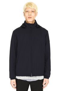 Hooded windbreaker, Raincoats And Windbreaker Z Zegna man
