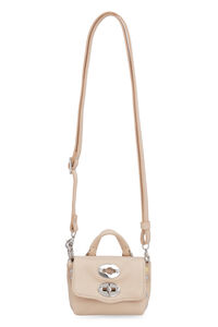 Postina Mini leather crossbody bag, Shoulderbag Zanellato woman