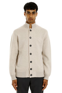 Wool and cashmere cardigan, Cardigans Brunello Cucinelli man
