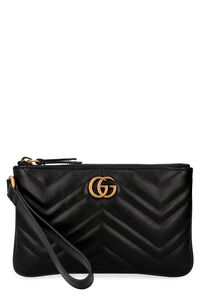 GG Marmont quilted leather clutch, Clutch Gucci woman