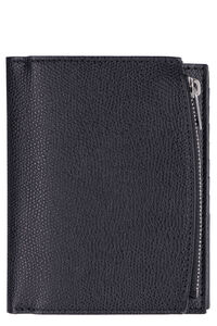 Leather flap-over wallet, Wallets Maison Margiela man
