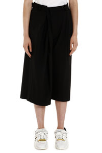 Wool blend culotte pants, Cropped pants Maison Margiela woman