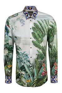 Front buttons cotton shirt, Printed Shirts Dolce & Gabbana man