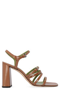 Goldie patent leather sandals with heel, High Heels sandals by FAR woman