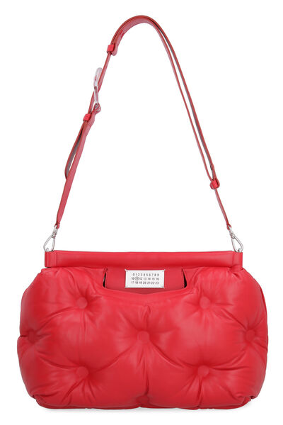 Glam Slam quilted leather handbag