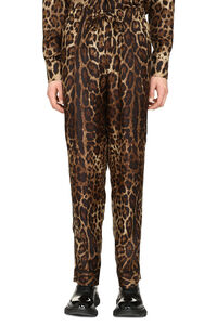 Printed silk pants, Casual trousers Dolce & Gabbana man