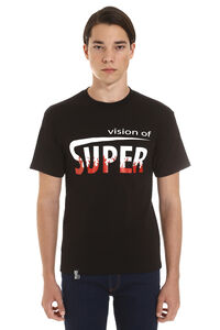 Crew-neck cotton T-shirt, Short sleeve t-shirts Vision of Super man